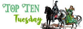Top Ten Tuesday: Leaving for other worlds