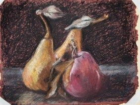 "A Pear and a Pair (12"" x 15"")"