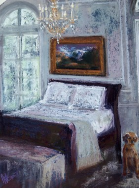 "Upper Eastside Bedroom (10"" x 14"")"