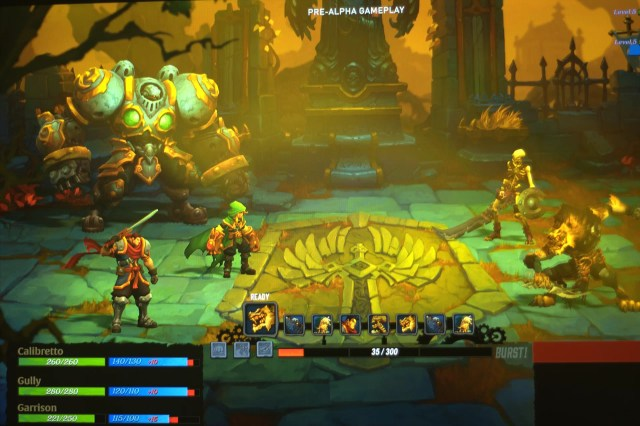 Battle Chasers - Tryb walki