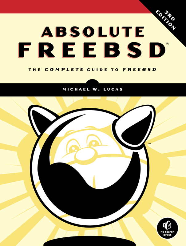 Absolute FreeBSD 3rd Edition cover