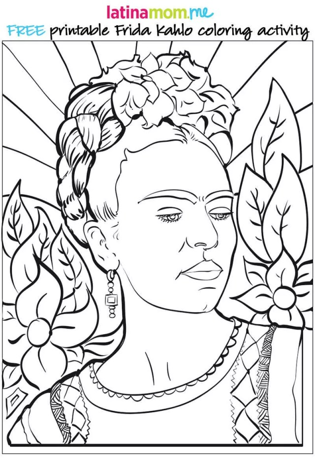 Free Coloring Pages Inspired by Inspiring Women - Mendes Weed, LLP