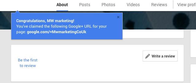 Google-Plus-Unique-URL