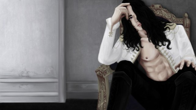 Vampire Jean Claude wallpaper, L. K. Hamilton - Anita Blake series Magdalena Wojarska