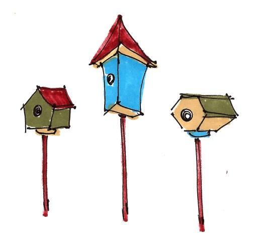 m wood trois oiseaux