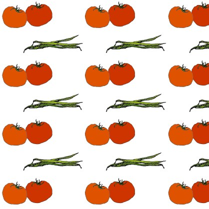pattern M WOOD TOMATO & BEANS JPEG