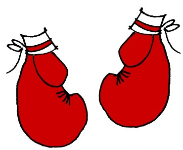 LESLIE KRITZER BOXING GLOVES
