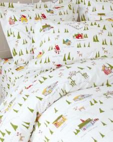 Garnet Hill North Pole Bedding