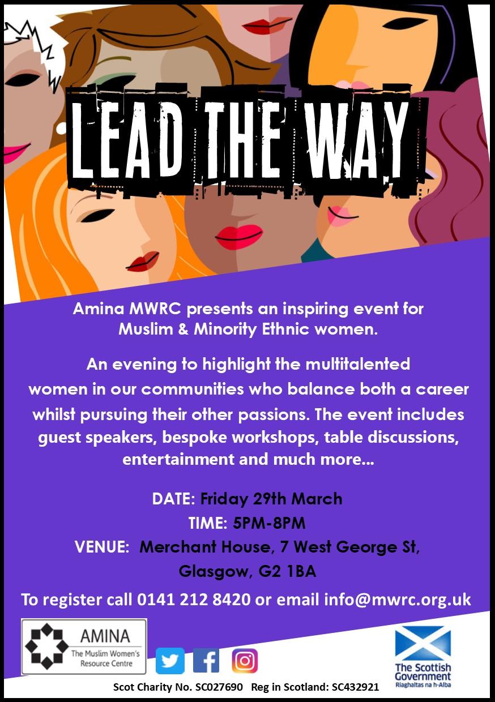 Lead the Way - Glasgow