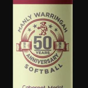 50th Anniversary Wine