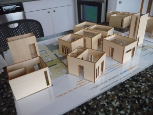 "house models inside ""elementhouse"""