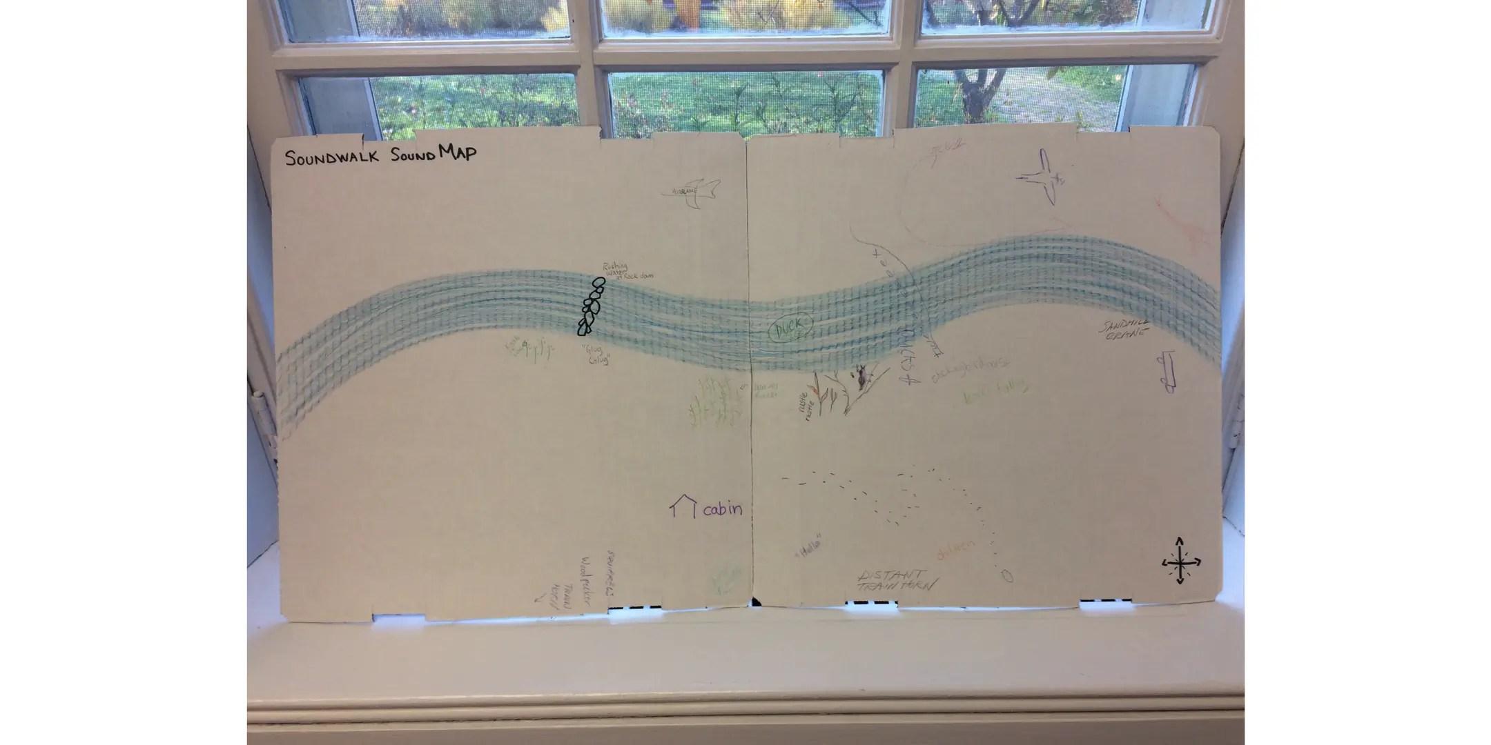 Ryerson Woods Soundwalk Map
