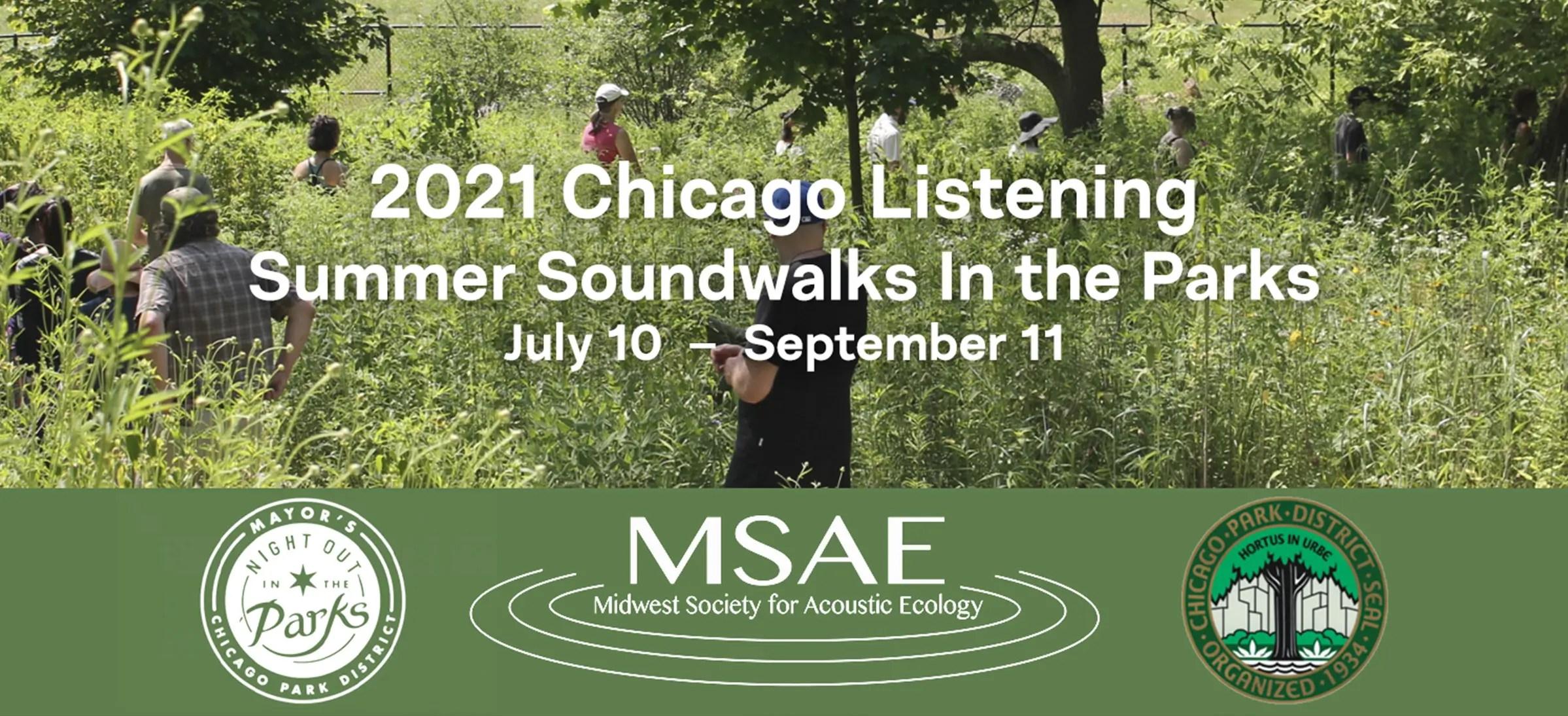 Soundwalks In the Parks 2021