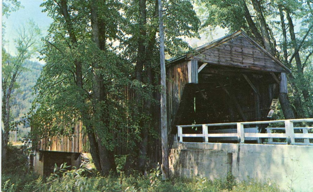 Whittier covered bridge