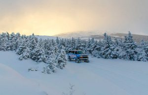 SnowCoach sunrise tours