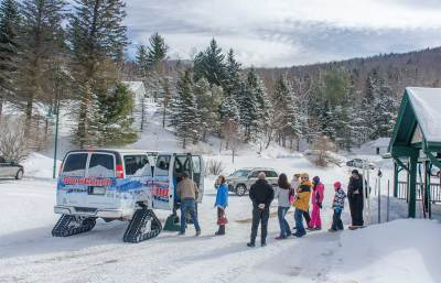 Mt Washington SnowCoach scenic winter tours