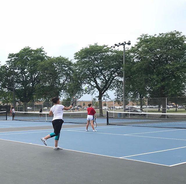 Start of Girls Tennis Season