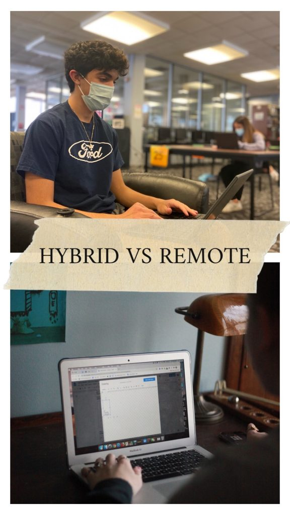 Hybrid gives students a newfound sense of flexibility