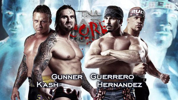 Kid Kash and Gunner vs Chavo Guerrero and Herndez