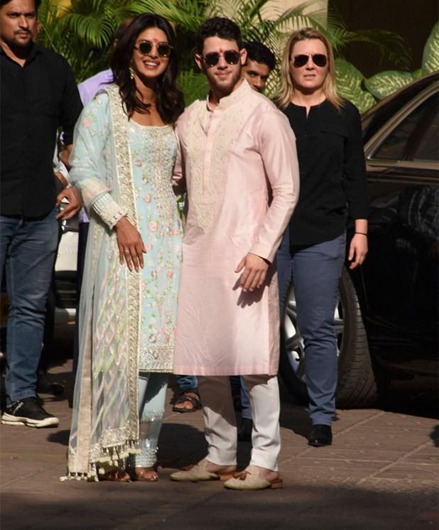 Nick Jonas y Priyanka Chopra