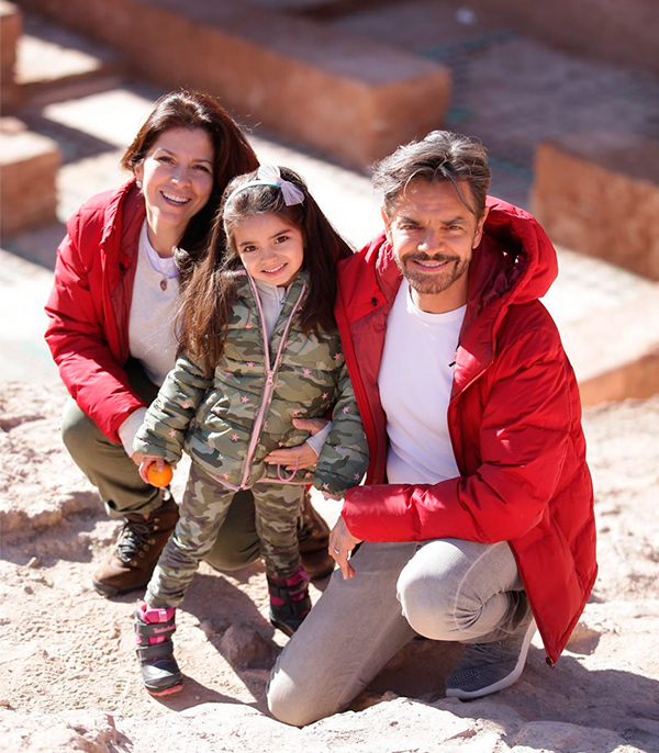 Eugenio, Alessandra y Aitana