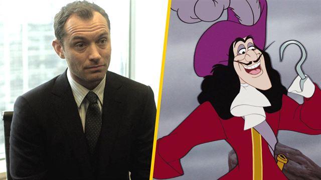Jude Law será el Capitán Garfio en el live-action de 'Peter Pan ...