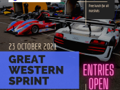 2021 Great Western Sprint Entries Open