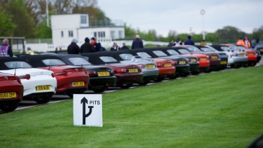 MX-5 Owners Club Spring Rally Goodwood 2018 - photo by Andrew Coles