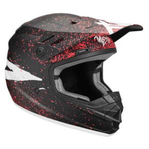 THOR YOUTH SECTOR BLACK CORAL HELMET
