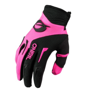 ONEAL YOUTH ELEMENT GLOVES BLK/PNK M 3-4