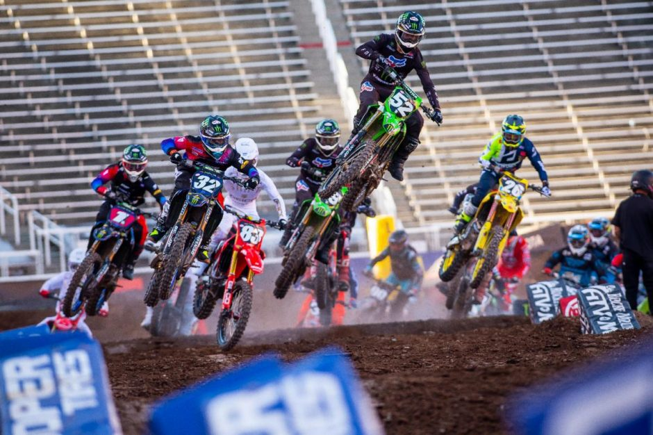 Austin Forkner rode clean laps to his third win