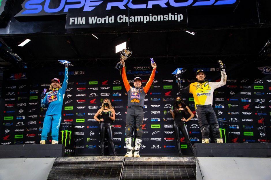 450SX Class podium