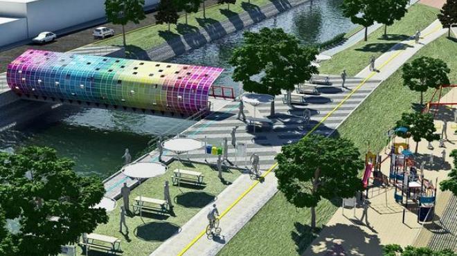 Nuevo parque lineal se proyecta para el Gran Canal de la CDMX