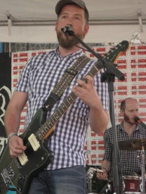 Forsanger Kasper Eistrup fra Kashmir på den texanske branchefestival.