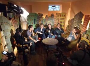 Thee Attacks - blev interviewet af kulturkanalen Arte TV inden koncerten. (Foto: René Wiborg).