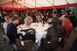 Der var ikke stille et sekund under middagen, nu vil tiden vise, om der kommer konkrete samarbejder ud af seancen