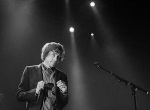 Mew - gav deres første London-koncert i fire år - men havde statdig publikumstække. (foto: Monica Santos Herberg)