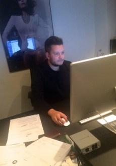 Janus Barnewitz fra disco:wax - samordner Nabiha-tiltagene i tæt samarbejde med Mette Buhl.