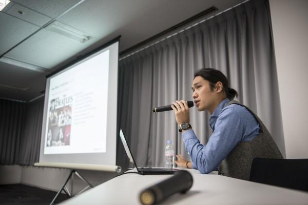 Hiroshi Kuramoto fra Sony Music Publishing gav på sidste års seminar et overblik over mulighederne for udenlandske sangskrivere - Omkring 50% af den japanske musik skrives af udlændige. 24  af den japanske top 100 var i 2014.