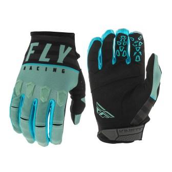 Kinetic K120 Gloves Sage Green/Black