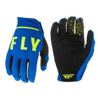 Lite Gloves Blue/Black/Hi-Vis