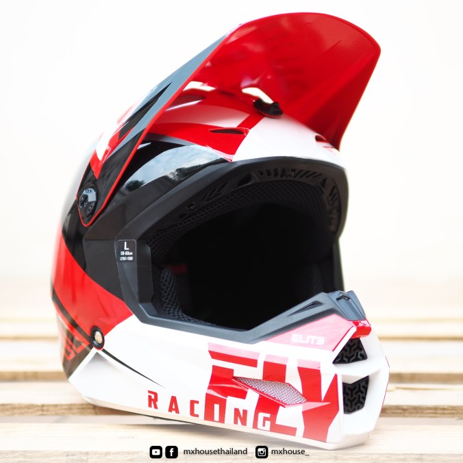 FLY Racing Elite Vigilant Red / Black