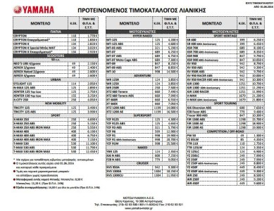 2016 timokatalogos ymaha