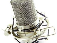 MXL 990 condenser mic with shockmount