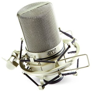 MXL 990 condenser mic with shockmount