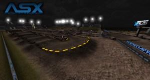 Championnat de supercross australien sur MXS Concept