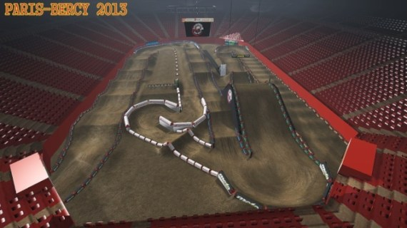 Paris Bercy 2013 sur MX Simulator