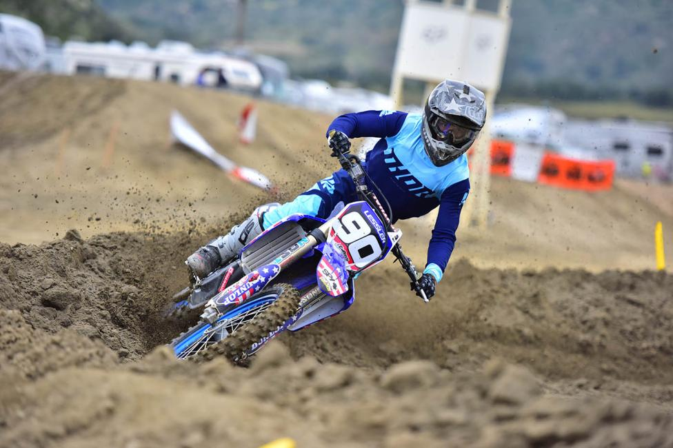 Brayden Lessler (YAM) won the 450 Pro class with a 2-1 performance.