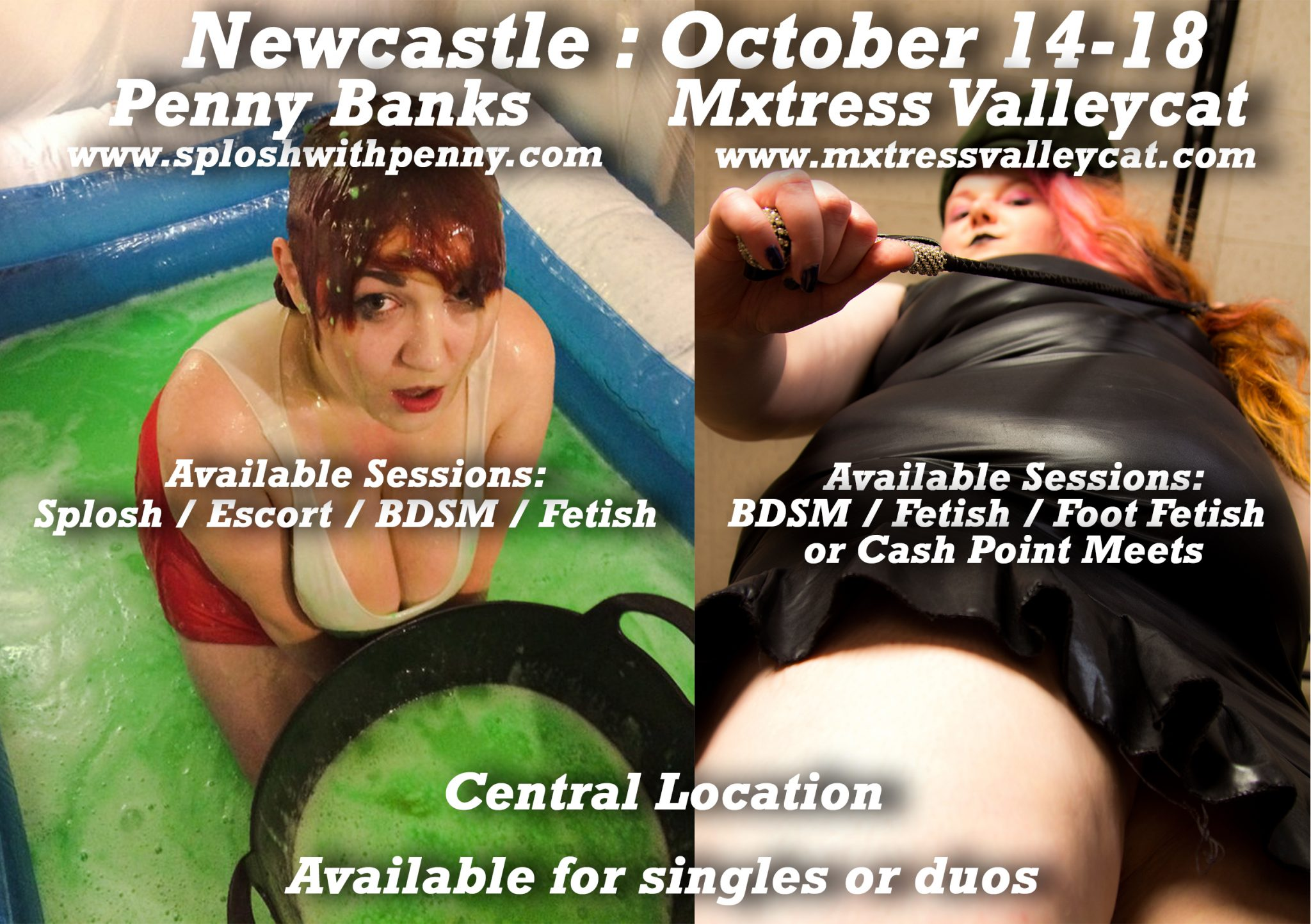 doubles - Newcastle : Doubles with Penny Banks