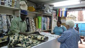 9. Tom Cuts Judy's fabric